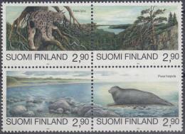 Finlandia 1995 Nº 1258/61 (boque) Usado - Usados