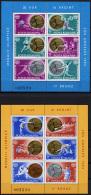 Romania, 1984, Olympic Summer Games Los Angeles 1984, MNH, Michel Block 209-210 - Roumanie