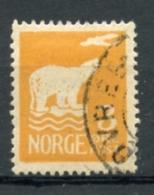 Norvege, Norway, Norge, 1925, 3 Ore, Amundsen Polar Expedition, Ice Bear, Used, Michel 110 - Gebruikt