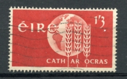 Ireland, Irlande, 1963, 1 Sh 3 P, Freedom From Hunger, Used, Michel 158 - 1949-... Republic Of Ireland