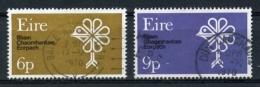 Ireland, Irlande, 1970, European Nature Protection Year, Used, Michel 237-238 - 1949-... Republic Of Ireland