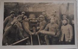 """Carte Photo Soldats Français Artilleur Devant Canon """" La Cécile""""  / 14-18 / WW1 / POILU - 1914-18"""