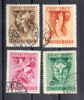 HONGRIE 1939. YVERT Nº 538/542. OBLITÉRÉS. SES323GRANDE - Gebruikt