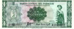 Paraguay P.193 1 Guarani 1963 Unc - Paraguay