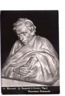 N2517 CARTOLINA: Il Poeta Giacomo Leopardi, Scultura Di ANTONIO UGO - Pinacoteca Comunale Di Recanati _ NON VIAG. - Scrittori
