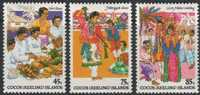 Cocos Keeling Islands 1984 Yvertn° 110-12 *** MNH Cote 5,40 Euro - Cocos (Keeling) Islands