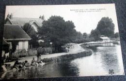 CPA - PARAY LE MONIAL - Les Bords Du Canal Du Centre - Lavandières - Paray Le Monial