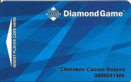 Cherokee Casino Roland, OK - Slot Card - Diamond Game - Casino Cards