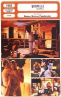 Fiche De Mr Cinéma QUERELLE - Réalisateur Werner Fassbinder - FRANCE ALLEMAGNE 1982 - Non Classificati