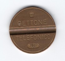 Gettone Telefonico 7607 Token Telephone - (Id-584) - Professionali/Di Società