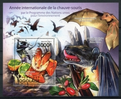 Togo, 2011, International Year Of Bats, UNEP, MNH, Michel Block 622 - Togo (1960-...)