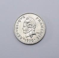10 Francs NOUVELLE CALEDONIE 1970 SPL - Colonies
