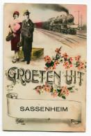CPsm  PAYS BAS  /  SASSENHEIM    Groeten Uit    VOIR  DESCRIPTIF  §§§ - Sassenheim
