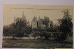 Cpa Chateau De L'Indre POMMIERS Vue Générale Du Chateau Du Chastelier  - DAL04 - Francia