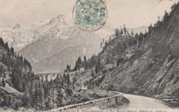 74A106 CPA 74 -  Route Du FAYET à CHAMONIX - Le Mont Blanc               1906 - Chamonix-Mont-Blanc