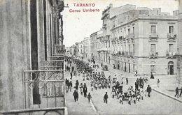 Taranto - Corso Umberto - Militaria - Carte N°119 Non Circulée - Taranto