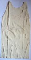 CHEMISE NUISETTE ? EN COTON ECRU Sans Manche Années 40-50 - Vintage Clothes & Linen