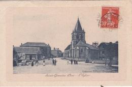 16/  7 / 73   SAINTE -GENEVIÈVE  ( 60 )  -L'ÉGLISE - Sainte-Geneviève