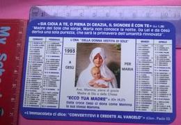 CALENDARIETTO 1993 - Calendari
