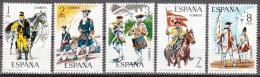 Spain    Scott No. 1824-28    Mnh     Year  1974 - 1931-Today: 2nd Rep - ... Juan Carlos I
