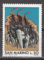 San Marino    Scott No.  853    Mnh    Year  1975 - Ungebraucht