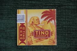 "Paquet De 12 Cigarettes  "" TINO FORMATA "". HUNIG WUSTUNG - Etuis à Cigarettes Vides"