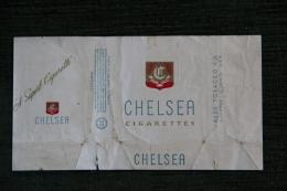 """Paquet De 20 Cigarettes  """" CHELSEA """", Virginia USA - Etuis à Cigarettes Vides"""