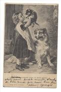 14925 - Bébé S'amuse Avec Petit Chien - Bébés