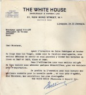VP5067 - Lot De Documents - The White House - Wholesale & Export - LONDON ( LONDRES ) - United Kingdom