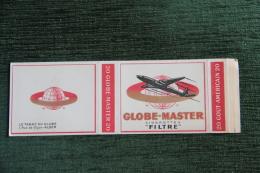 """Paquet De 20 Cigarettes  """" GLOBE MASTER """" - ALGER - Etuis à Cigarettes Vides"""