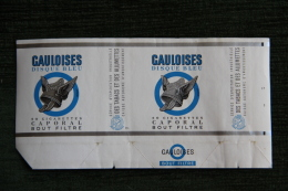 """Paquet De 20 Cigarettes  """" GAULOISES DISQUE BLEU """" - FRANCE - Etuis à Cigarettes Vides"""
