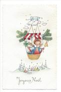 14935 - Joyeux Noël Mongolfière Avec Ange - Altri