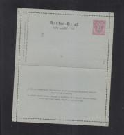 KuK Karten-Brief 5 Kreuzer Rumänisch - Interi Postali