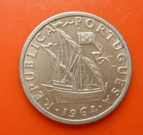 Portugal 2,5 Escudos 1964 - Portugal