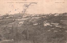16 ANGOULEME LES PAPETERIES DUPUY ET LA GRAND'FONT CIRCULEE 1904 - Angouleme
