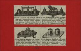 UBLICITES - ECRITURE - ENCRIER - Pub Issue D´une Revue De 1928 Collée Sur Carton - Publicités