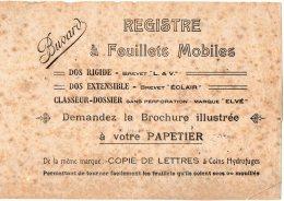 VP5079 - Buvard - Registre à Feuillets Mobiles - Papeterie