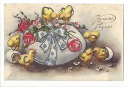 14949 -  Joyeuses Pâques Oeufs  Poussins Et Brillants - Petersen, Hannes