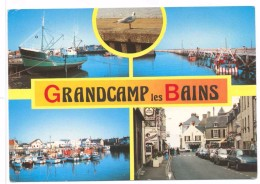 Grandcamp Les Bains Multivues Port De Pêche Centre Ville - Autres Communes