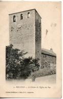 84. Bollene. Le Clocher De L'eglise Du Puy - Bollene