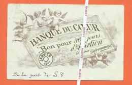 BANQUE DU COEUR  -  Bon Pour 365 Jours D'affection  -  Janvier 1901 - Sonstige
