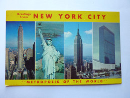 NEW YORK CITY Multivues - Multi-vues, Vues Panoramiques