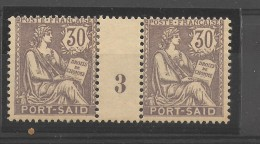 Port- Saïd  _ 30c  Millésimes  Mouchon _ N°30 (1903 )