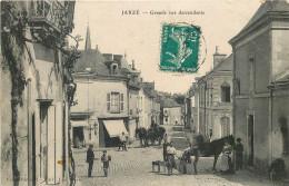 49 - MAINE Et LOIRE - Jarzé - Grande Rue - Maréchal Ferrant - France
