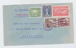 Guatemala AIRMAIL COVER LOCAL POST TO RETALHULEU 1930 - Guatemala
