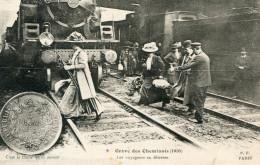 GREVE DES CHEMINOTS DE L OUEST(PARIS GARE SAINT LAZARE) - Grèves