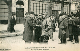 MANIFESTATION DU 1er MAI A PARIS - Manifestations