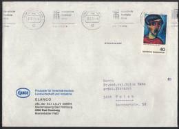 PF390      Germany  1974  Cover Stampel -  Internationale Frankfurter Messe - Fabbriche E Imprese