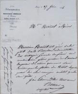 TITRE DE TRANSPORT-N°44 ADMINISTRATION MESSAGERIES GENERALES LAFFITTE-PARIS 1834 - Billetes De Transporte
