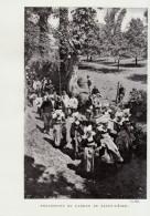 Vers 1900 - Iconographie Documentaire - Riec-sur-Bélon - La Procession Du Pardon De Saint-Léger - FRANCO DE PORT - Vieux Papiers
